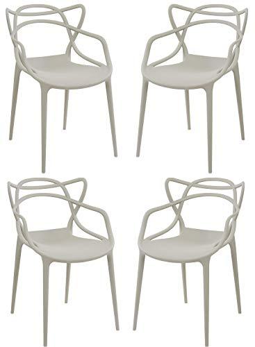 Sedie Da Esterno Design.Toto Piccinni Sedie Infinity Moderne Design Impilabile L 54x P