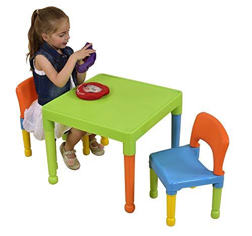 Tavolo In Plastica Con Sedie.Liberty House Toys Tavolo Da Gioco Per Bambini Con 2 Sedie In
